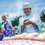 Свои подворья выставили 11 районов Татарстана