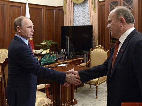 Неожиданное повышение Лихачева стало следствием встречи Геннадия Зюганова с Владимиром Путиным (фото kremlin.ru)
