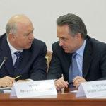 Николай Меркушкин и Виталий Мутко