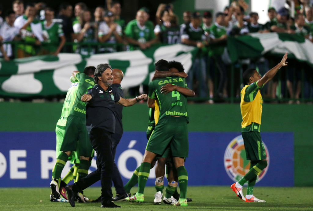 Football Soccer - Brazil's Chapecoense v Argentina's San Lorenzo - Copa Sudamericana semifinals