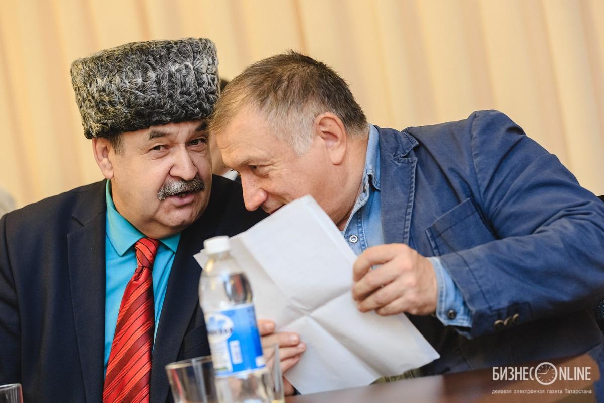Лябиб Лерон (слева) и Радиф Сагди
